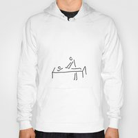 the cure Hoodies featuring cure massage by Lineamentum