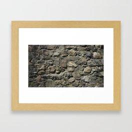 Rock Back Framed Art Print