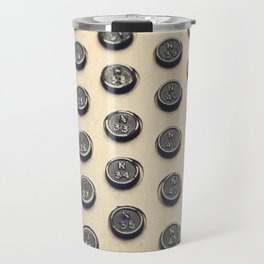 Vintage Bingo Board Game 1 Travel Mug
