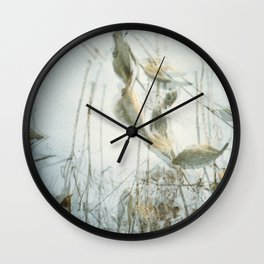 Milk Weed Wall Clock