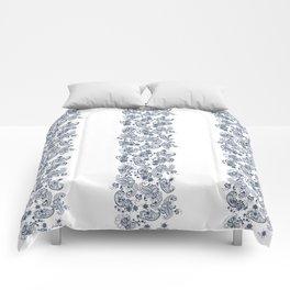 Marine Seamless Pattern Lace Comforters