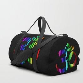 Techno Om Yoga Duffle Bag