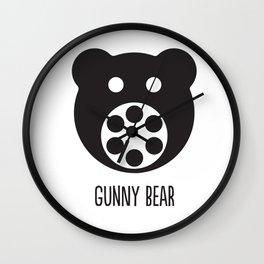 Gunny Bear Wall Clock