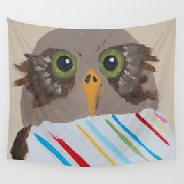Owlie No.1 Wall Tapestry