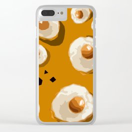"""""""The big Egg with Pepper"""" Clear iPhone Case"""