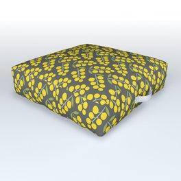 Wattle I Think Of Next Outdoor Floor Cushion