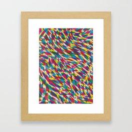 Boom Boom Zoom Framed Art Print