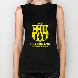 Slogan Barcelona Biker Tank