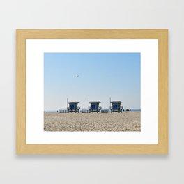 Venice Beach Views Framed Art Print
