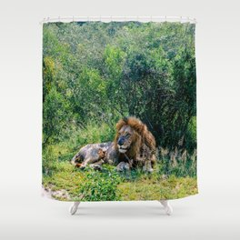 Pride of the Pack Shower Curtain
