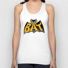 bat in a batshape Unisex Tank Top