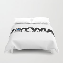 HOYWBE (halt or you will be exterminted) Duvet Cover