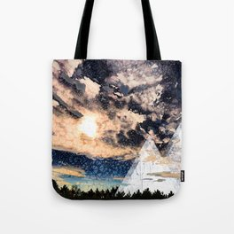 My Imaginations Sunset Tote Bag