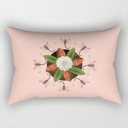 Scorpio Collage Rectangular Pillow