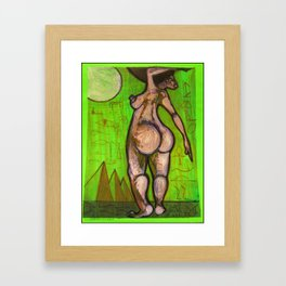 2011 egg and her sun Framed Art Print