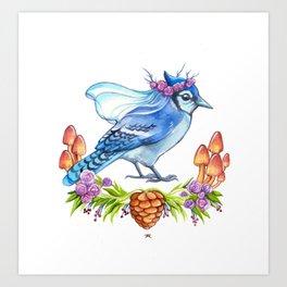 Jay Bride Art Print