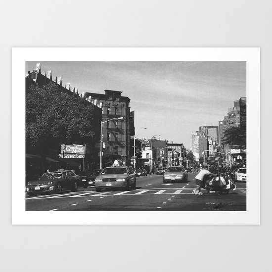 New York City - Upper West Side Art Print