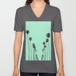 Palm Trees 9 Unisex V-Ausschnitt