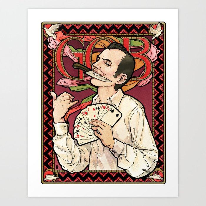 GOB Nouveau Art Print