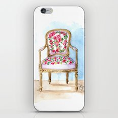 The Rose Chair Watercolor iPhone & iPod Skin