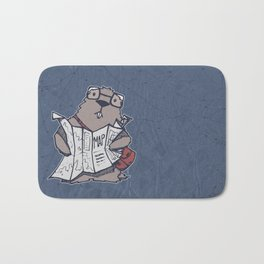 A Geeky Marmot Bath Mat
