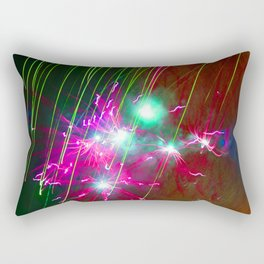 Light painting Rectangular Pillow