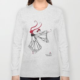 Katharina- Lady butterfly Long Sleeve T-shirt