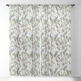 Pine Bough Sheer Curtain