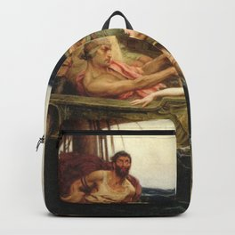 Odyssey By James Herbert Draper Backpack