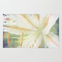 lily Area & Throw Rugs featuring Lily by Deepti Munshaw