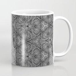 Gray Swirl Pattern Coffee Mug
