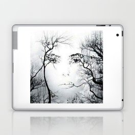 face in the trees Laptop & iPad Skin