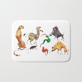 African animals 2 Bath Mat