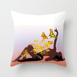 WideAwake Throw Pillow