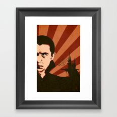 The Count Framed Art Print