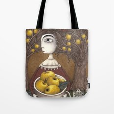 Portrait of an Apple Orchard Tote Bag
