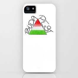 BUDAPEST Triangle iPhone Case
