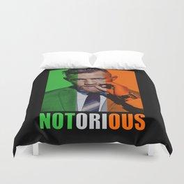 Conor Mcgregor Notorious Duvet Cover