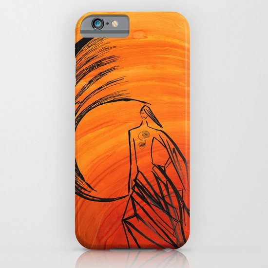 Angel under cover iPhone & iPod Case