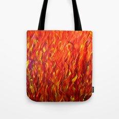 Flames/abstract Tote Bag