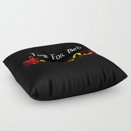 Time For Bed - Zeldas Lullaby (The Legend Of Zelda: Ocarina Of Time) Floor Pillow
