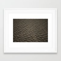 dune Framed Art Prints featuring Dune by Two Tails, One Trail