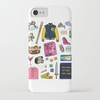 mean girls iPhone & iPod Cases featuring Mean Girls by Shanti Draws