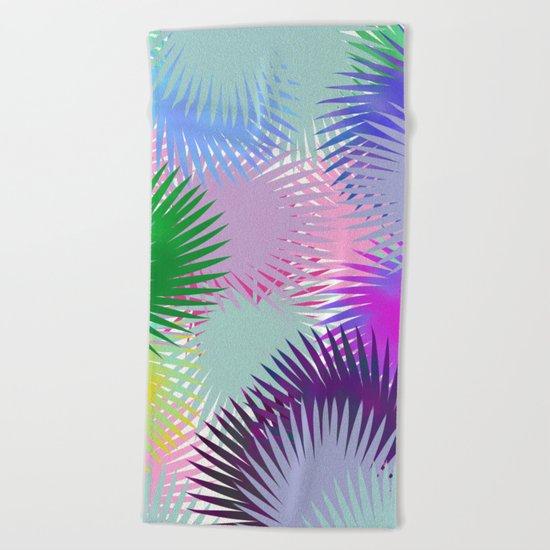 Super Tropics Beach Towel