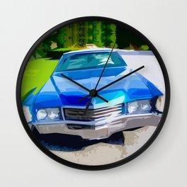 1970 Cadillac Eldorado Wall Clock