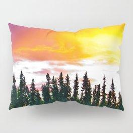 Summer Sun Almost Sets in Alaska Pillow Sham