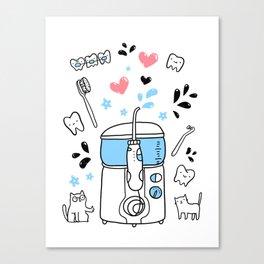 Dental hygiene Canvas Print