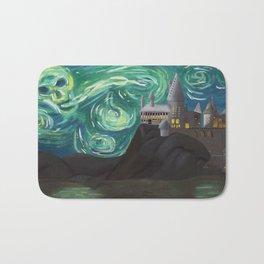 Starry Night at Hogwarts Bath Mat