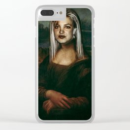 Mona Britney Clear iPhone Case