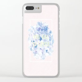 you are so loved Clear iPhone Case
